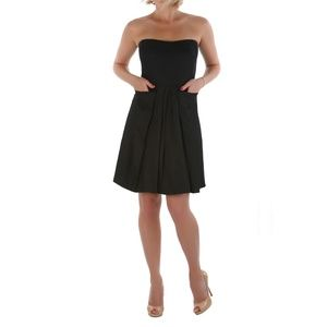 New See By Chloe Strapless A-Line Dress